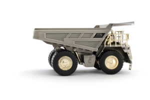 CAT 777D Off-Highway Truck - Silver Commemorative 55157