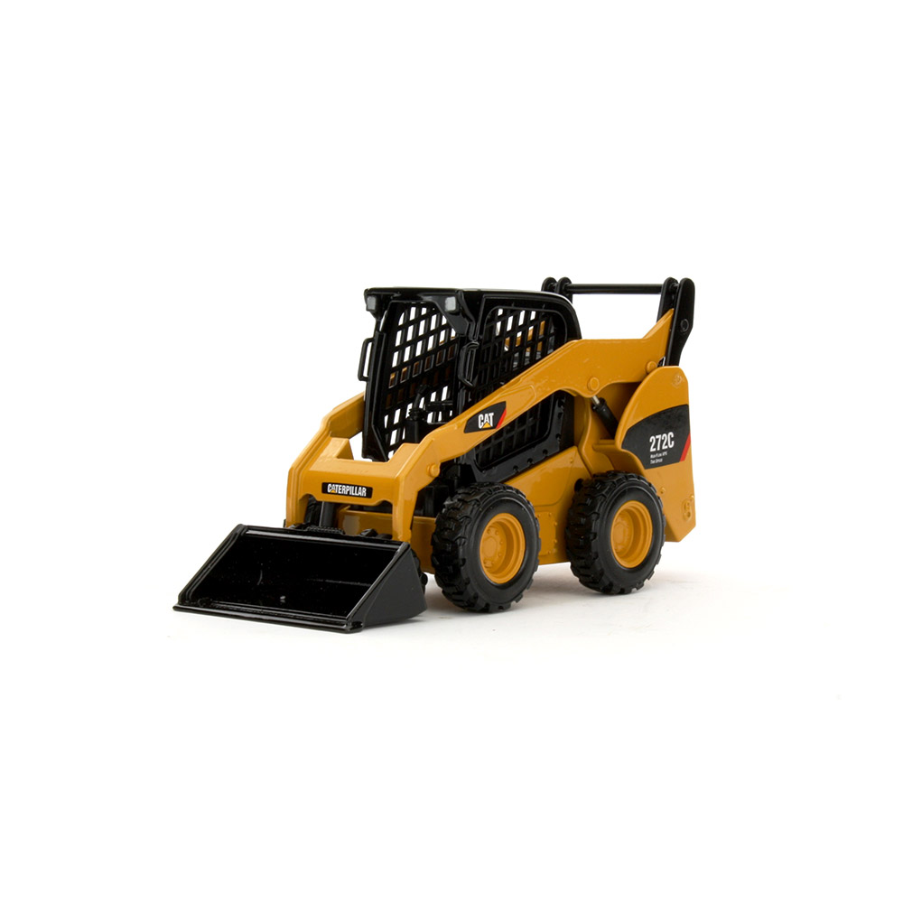 CAT 272C Skid Steer Loader with work tools 55167