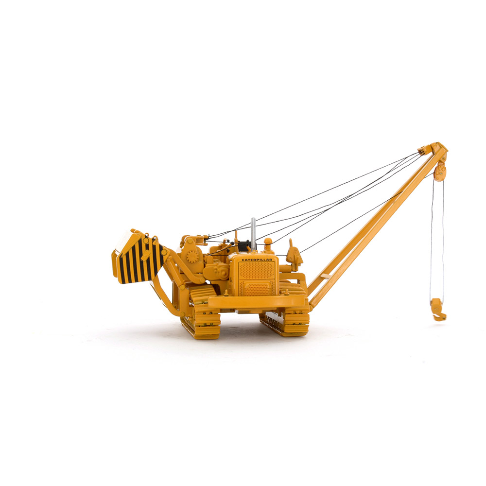 CAT 572C Pipelayer with Metal Tracks 55210