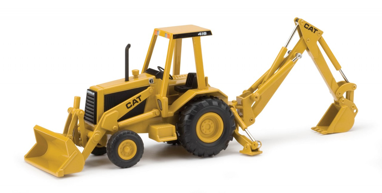 CAT 416C Backhoe - Commemorative 55271