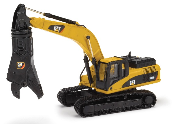 CAT 336D L Excavator with Demolition Shear 55283