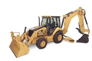 CAT 450E Backhoe 55263