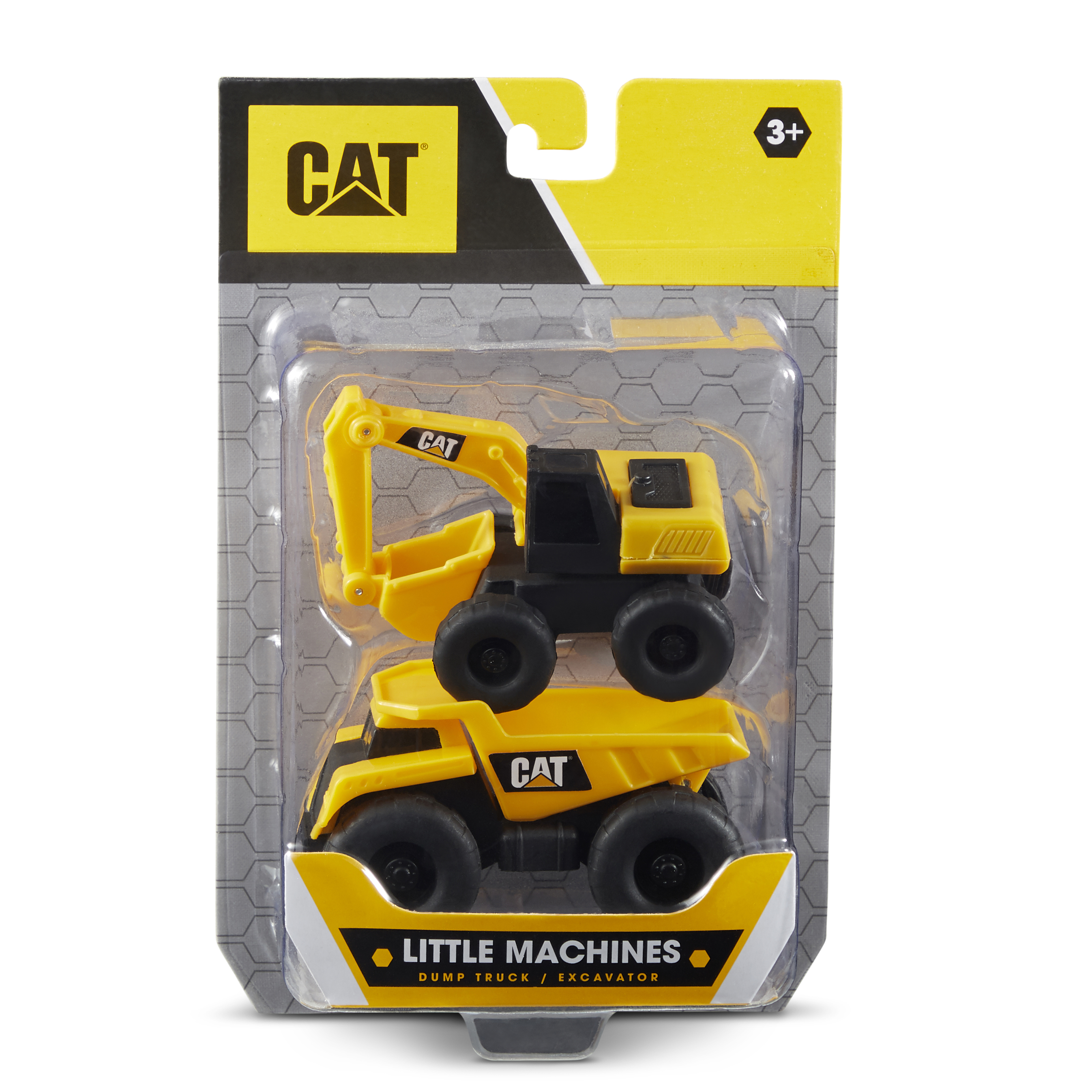 Cat Little Machines 3 Quot 2 Pack Dump Truck Excavator 82278